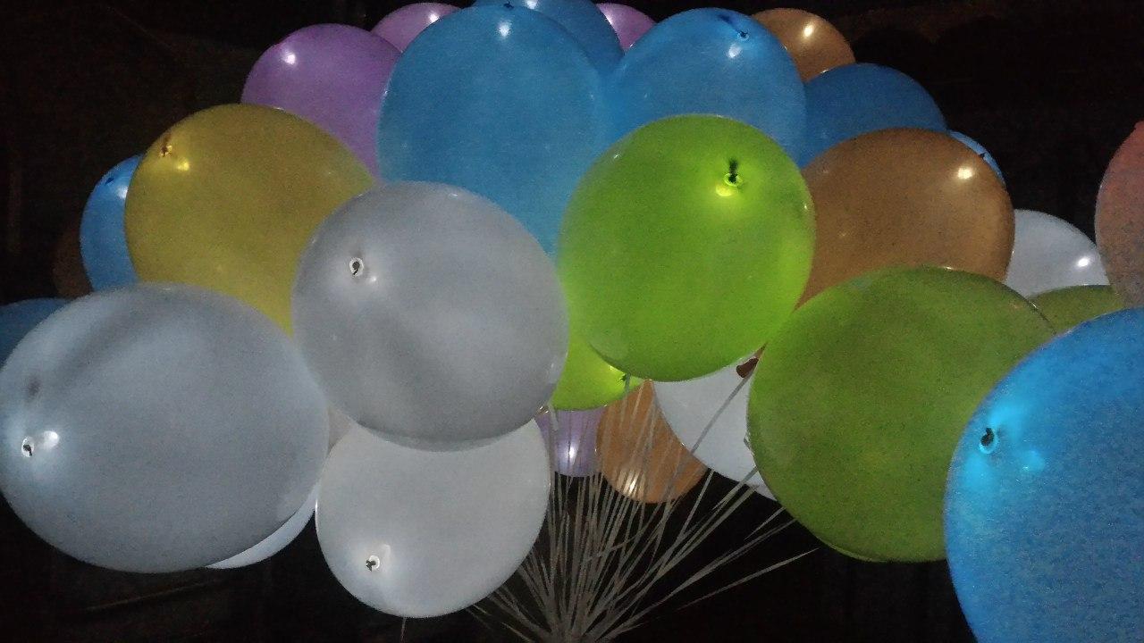 Светящиеся шарики своими руками 518