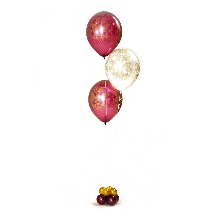 Фонтан из 3 шаров