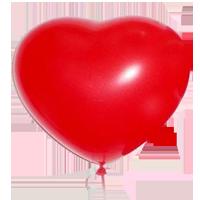 Сердце латекс