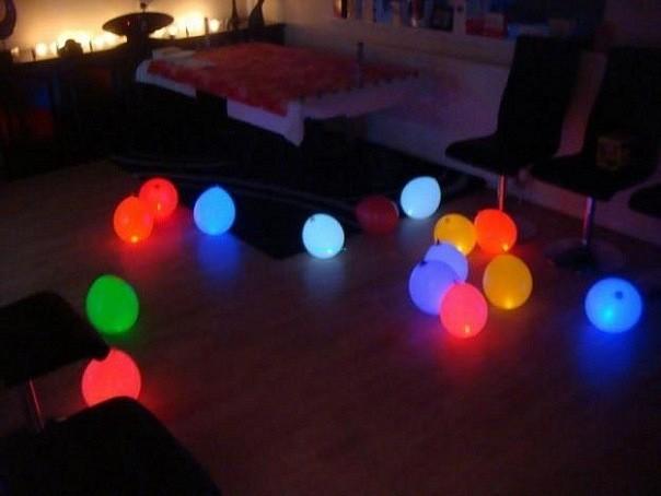 Светящиеся шары на пол