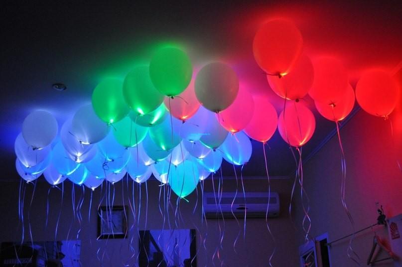 Светящиеся шары с гелием 1