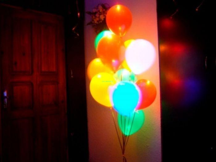 Светящиеся шары с гелием 2