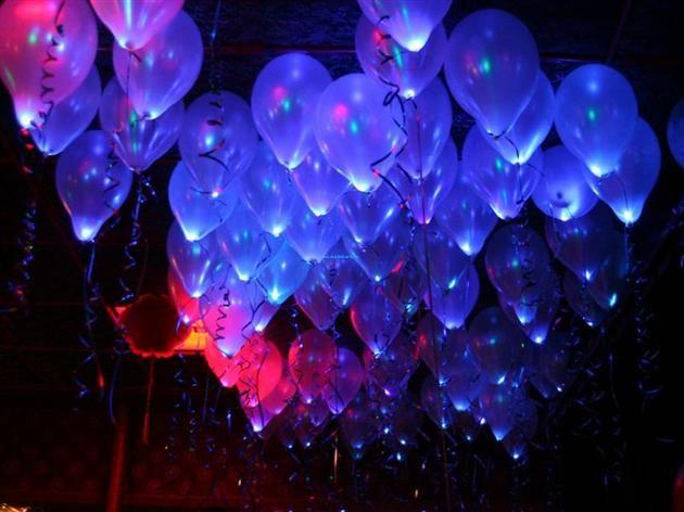 Как сделать светящиеся шар