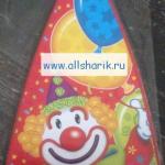 Галстук клоун
