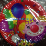 тарелка клоун