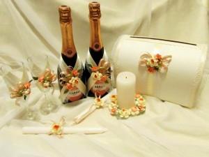 комплект - свадебный набор